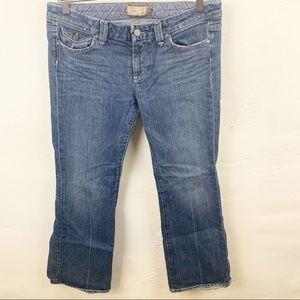Paige l Medium Wash Pico Bootcut Jeans